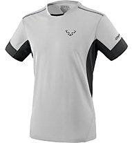 Dynafit Vertical 2 - T-shirt trail running - uomo, Light Grey/Black