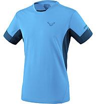 Dynafit Vertical 2 - T-shirt trail running - uomo, Light Blue/Dark Blue