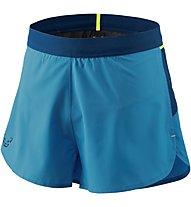 Dynafit Vertical 2 - pantaloni corti trail running - uomo, Light Blue/Blue