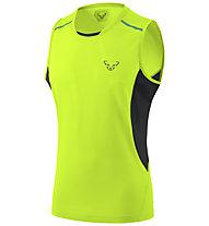 Dynafit Vertical 2 - ärmelloses Trailrunningshirt - Herren, Yellow