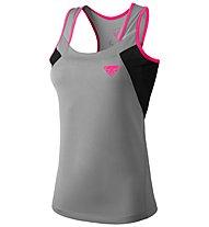 Dynafit Vertical 2 - Trägershirt Trailrunning - Damen, Grey/Black/Pink