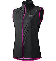 Dynafit Vertical Wind 49 - Weste Trailrunning - Damen, Black/Pink