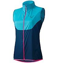 Dynafit Vertical Wind 49 - Weste Trailrunning - Damen, Light Blue/Blue/Pink
