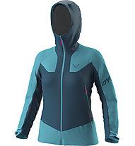 Dynafit Radical Gore-Tex® - Skitourenjacke - Damen, Dark Blue/Light Blue/Pink