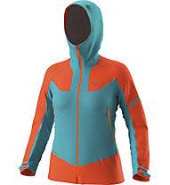 Dynafit Radical Gore-Tex® - Skitourenjacke - Damen, Orange/Light Blue