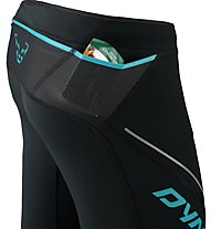Dynafit Winter Running - pantaloni trail running - donna, Black