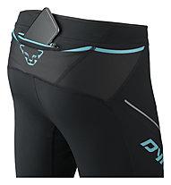 Dynafit Winter Running - pantaloni trail running - donna, Black/Blue