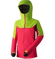Dynafit Yotei - GORE-TEX-Jacke Skitouren - Damen, Green/Pink