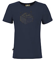 E9 B Space - Kinder-Kletter-T-Shirt, Blue