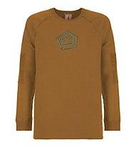 E9 Balance - Langarmshirt - Herren, Orange