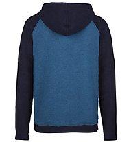 E9 Bolla - felpa con cappuccio - uomo, Blue