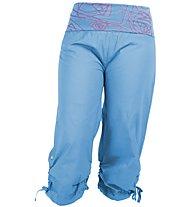 E9 Cleo Pant Freeclimbing Hose Damen, Blue