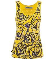 E9 Dona Top Damen Top, Yellow
