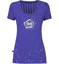 E9 Emy - T-Shirt Klettern - Damen, Purple