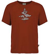 E9 Equilibrium - T-shirt - uomo, Dark Red