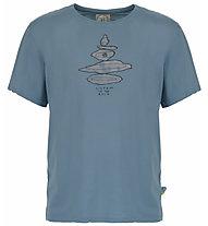 E9 Equilibrium - T-Shirt Klettern - Herren, Light Blue