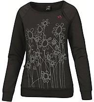 E9 Gro T-Shirt Damen T-Shirt Langarm, Black