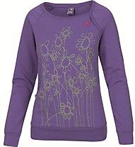 E9 Gro T-Shirt Damen T-Shirt Langarm, Violet