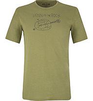 E9 Guitar - T-shirt arrampicata - uomo, Green