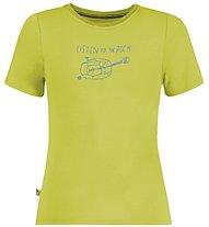 E9 Guitar - T-shirt arrampicata - bambino, Green