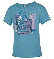 E9 Luis T-Shirt Bambini, Cyan