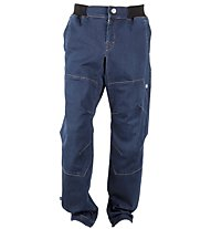 E9 Matar Light Denim Pants Herren Kletter- und Boulderhose, Blue