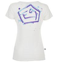 E9 N Drops - T-shirt arrampicata - donna, White