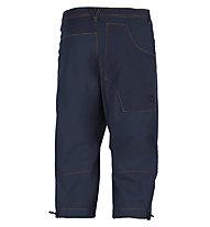 E9 N Fuoco 3/4 - Kurze Herren-Kletterhose, Dark Blue
