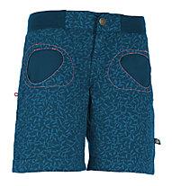 E9 N Onda - pantaloni corti arrampicata - donna, Blue