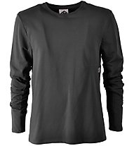 E9 On - Langarmshirt Klettern -Damen, Grey