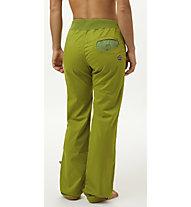 E9 Onda Slim - pantaloni arrampicata - donna, Green