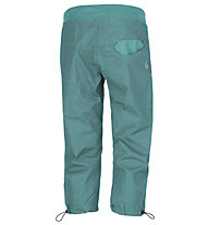 E9 Onda ST 3/4 - Freeclimbinghose - Damen, Turquoise