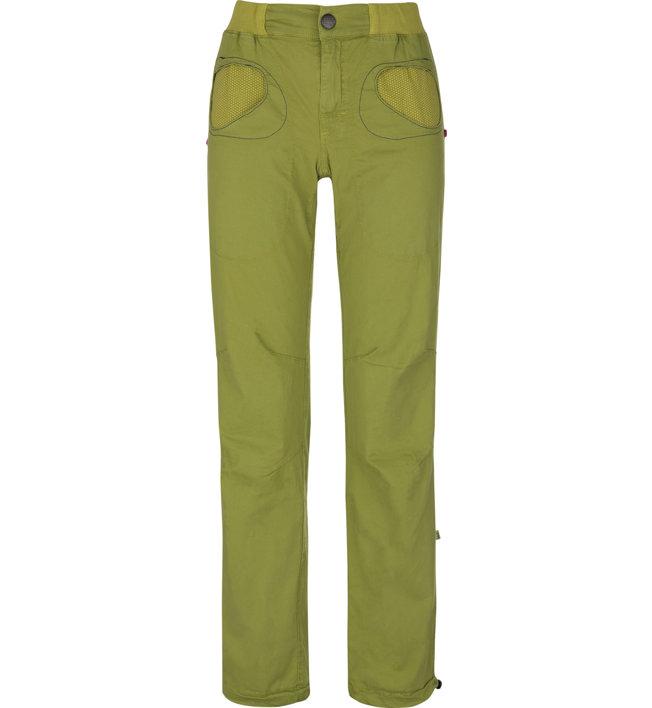 E9 Onda Story - pantaloni lunghi arrampicata - donna, Green