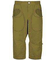E9 R3 - pantaloni corti arrampicata - uomo, Green