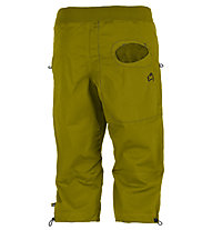 E9 R3 3/4 - Kurze Kletterhose, Green