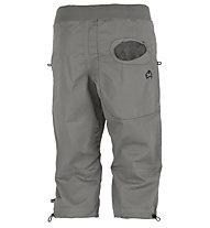 E9 R3 3/4 - Kurze Kletterhose, Grey