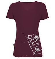 E9 Reve - Damen-Kletter-T-Shirt, Red