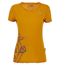 E9 Reve - Damen-Kletter-T-Shirt, Yellow