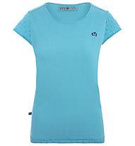 E9 Rica SP - t-shirt arrampicata - donna, Light Blue