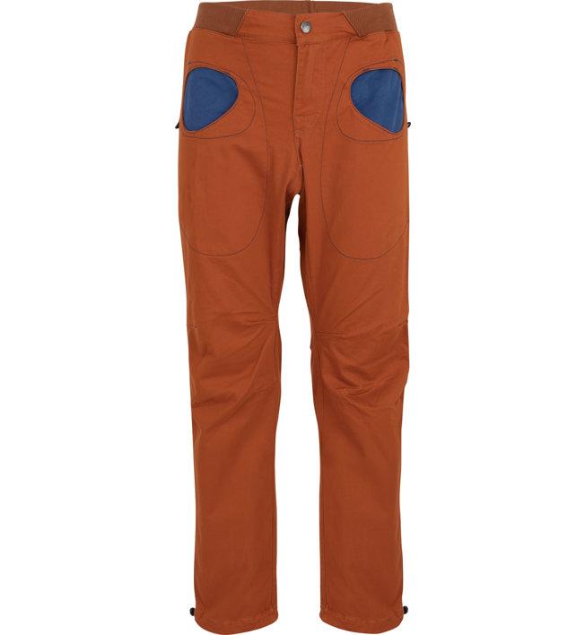 E9 Rondo Story SP2 - pantaloni lunghi arrampicata - uomo, Orange/Dark Blue
