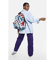 Eastpak Padded Pak'r Bold - Rucksack, White/Light Blue/Red