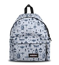 Eastpak Padded Pak'R - zaino tempo libero, Light Grey/Grey
