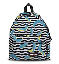 Eastpak Padded Pak'R - zaino tempo libero, Black/White/Yellow