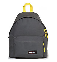 Eastpak Padded Pak'R - zaino tempo libero, Dark Grey/Yellow