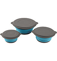 Easy Camp Clearwater Foldable Bowl Set - Campingschüsseln, Light Blue/Grey