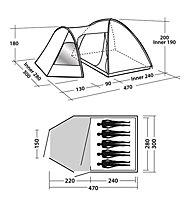 Easy Camp Eclipse 500 - Kuppelzelt