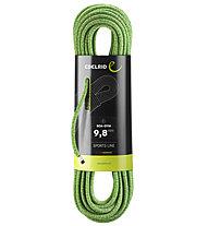 Edelrid Boa Gym 9,8 mm - corda singola, Green