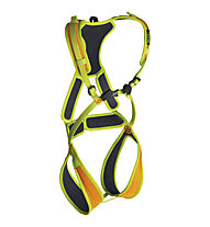 Edelrid Fraggle - Komplettklettergurt, Yellow/Orange