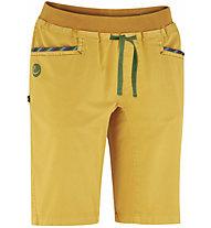 Edelrid Glory II - kurze Kletternhose - Damen, Yellow