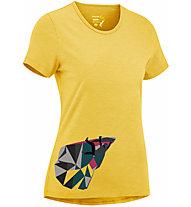 Edelrid Highball IV - T-shirt - Damen, Yellow